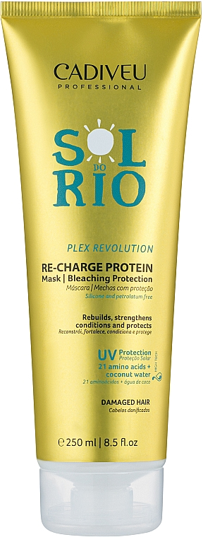 Протеин для волос - Cadiveu Sol do Rio Re-Charge Protein