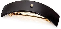 Духи, Парфюмерия, косметика Черная заколка-автомат - Balmain Black Barrette Pour Cheveux (L)