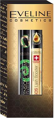 Подарочный набор - Eveline Cosmetics (mascara/10ml + serum/10ml) — фото N1