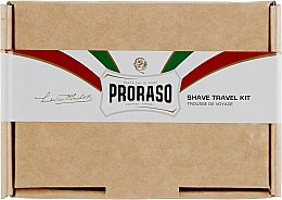 Духи, Парфюмерия, косметика Набор - Proraso Shave Travel Kit (cr/15ml + sh/cr/15ml + ash/balm/25ml)
