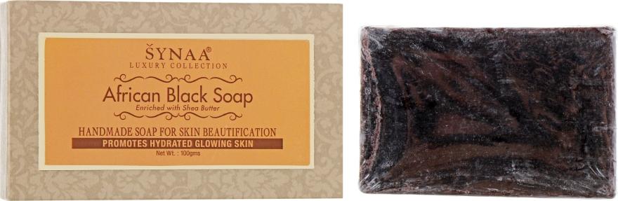 """Мыло ручной работы для тела """"Африканское чёрное"""" - Synna African Black Soap"""