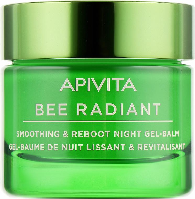 Ночной разглаживающий гель-бальзам-детокс - Apivita Bee Radiant Smoothing & Reboot Night Gel-Balm