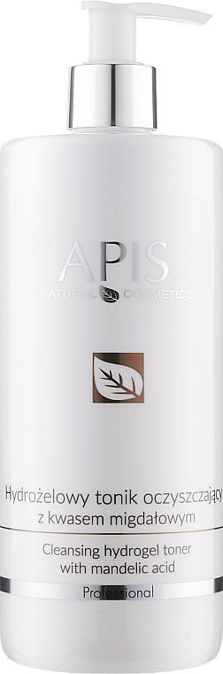 Очищающий тоник с миндальной кислотой - Apis Professional Cleansing Hydrogel Toner With Mandelic Acid
