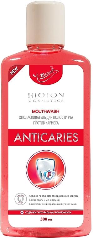 "Ополаскиватель для полости рта ""Антикариес"" - Bioton Cosmetics Biosense Anticaries"