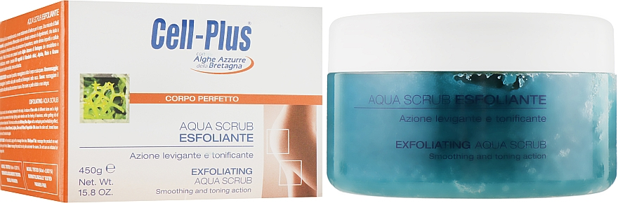 Солевой скраб для тела - BiosLine Cell-Plus Aqua Scrub