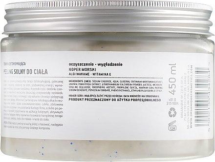 РАСПРОДАЖА Солевой детокс-пилинг для тела - Organique Detox Therapy Body Salt Peeling * — фото N2
