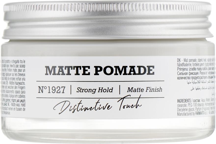 Матовый воск для волос - FarmaVita Amaro Matte Pomade