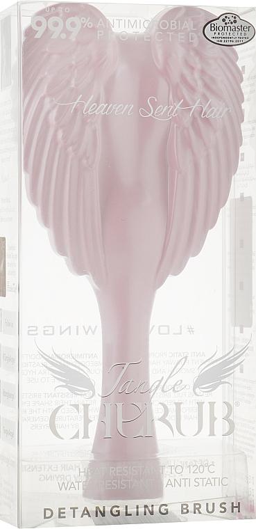 Расческа-ангел компактная, розовая, 14,8x7,5 см - Tangle Angel Cherub Brush Pink