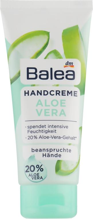Крем для рук - Balea Hand Cream Aloe Vera