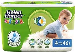 Духи, Парфюмерия, косметика Подгузники для детей Soft & Dry Maxi 4 (7-18 кг), 46 шт - Helen Harper