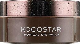 """Гидрогелевые патчи для глаз """"Тропические фрукты. Кокос"""" - Kocostar Tropical Eye Patch Coconut — фото N5"""