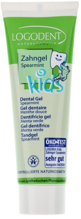 Гель зубной для детей Мятная свежесть - Logona Babycare Kids Dental Gel Spearmint