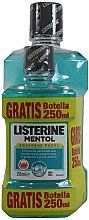 Духи, Парфюмерия, косметика Набор - Listerine Mentol (mouthwash/500ml + mouthwash/250ml)