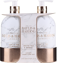 Парфумерія, косметика Набір - Baylis & Harding White Tea & Neroli Hand Care Set (soap/500ml + h/b/lotion/500ml)