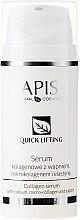 Духи, Парфюмерия, косметика Коллагеновая сыворотка с кальцием, микроколлагеном и эластином - APIS Professional Quick Lifting Collagen Serum