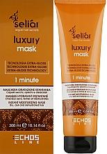 Духи, Парфюмерия, косметика Увлажняющая маска для волос - Echosline Seliar Luxury 15 Actions Mask