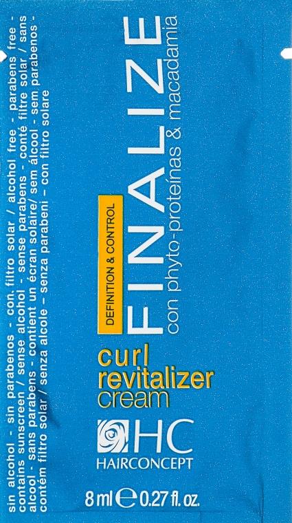 Крем-активатор завитков - HairConcept Finalize Curl Revitalizer Cream (пробник)