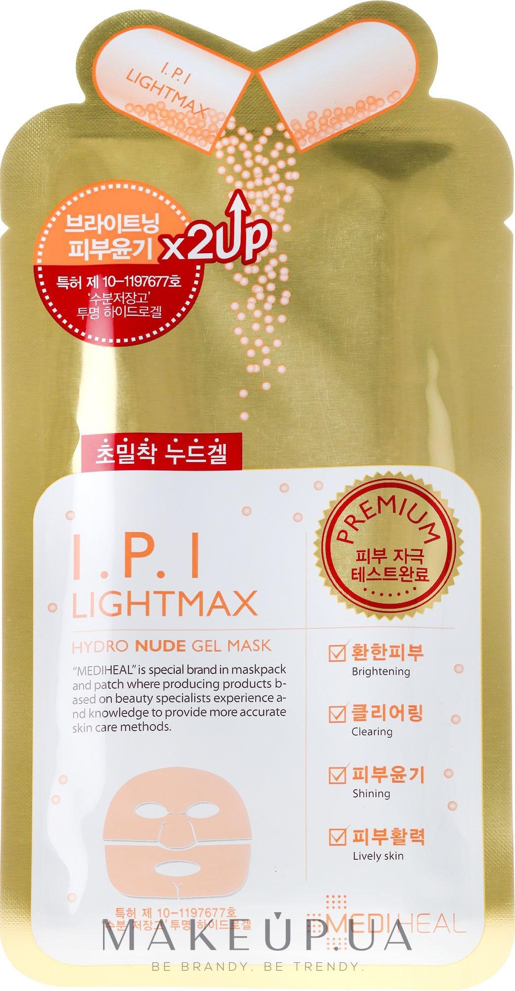 Mediheal I.P.I. Lightmax Hydro Nude Gel Mask - MASKEPEDIA