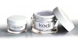 Духи, Парфюмерия, косметика Прозрачный конструирующий гель - Kodi Professional UV Builder Gel Clear Ice