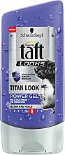 Духи, Парфюмерия, косметика Гель для волос - Taft Looks Titan Look Extreme Gel Radically Strong
