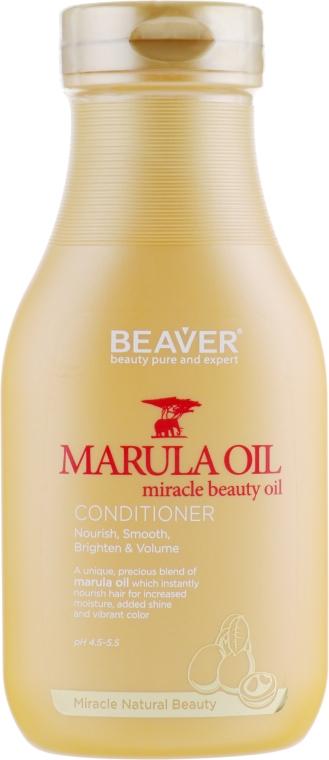 Питательный кондиционер для сухих и поврежденных волос с маслом Марулы - Beaver Professional Nourish Marula Oil Conditioner