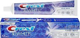 Духи, Парфюмерия, косметика Отбеливающая зубная паста + защитой эмали - Crest 3D White Ultra Vivid Mint