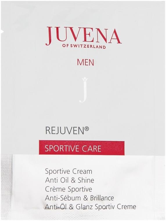 Мужской спортивный крем для лица - Juvena Rejuven Men Sportive Care (мини)