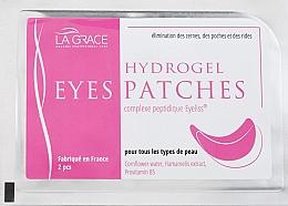 Духи, Парфюмерия, косметика Гидрогелевые патчи для глаз - La Grace Hydrogel Eyes Patches