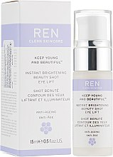 Духи, Парфюмерия, косметика Лифтинг крем-гель для контура глаз с эффектом сияния - Ren Keep Young And Beautiful