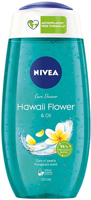 """Гель-уход для душа """"Свежесть балийского цветка"""" - Nivea hawaiian bliss & oil shower gel"""