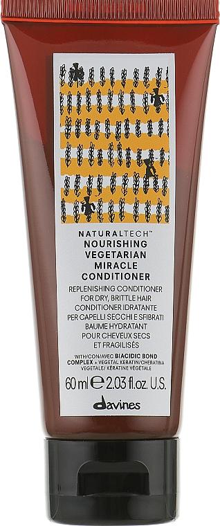 Кондиционер Вегетарианское чудо - Davines NT Nourishing Vegetarian Miracle Conditioner