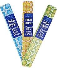 Духи, Парфюмерия, косметика Полирующая пилочка для ногтей 18 см, голубая - Sally Hansen La Cross High Shine 5 Second Shine