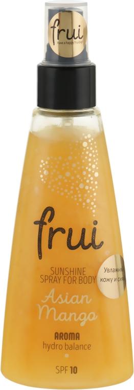 "Сияющий арома-спрей с увлажнением ""Манго"" - Frui Sunshine Spray For Body Asian Mango"