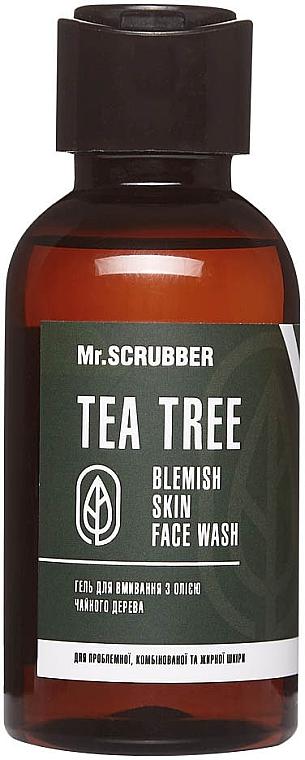 Гель для умывания с маслом чайного дерева - Mr.Scrubber Tea Tree Blemish Skin Face Wash