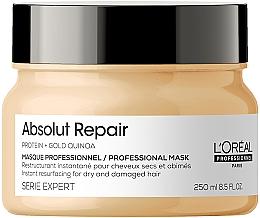 Духи, Парфюмерия, косметика Маска для интенсивного восстановления поврежденных волос - L'Oreal Professionnel Serie Expert Absolut Repair Gold Quinoa +Protein Mask
