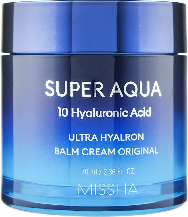 Увлажняющий крем-бальзам для лица - Missha Super Aqua Ultra Hyalron Balm Cream Original