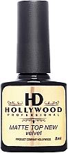 Духи, Парфюмерия, косметика Топ матовый - HD Hollywood Matte Top Coat Velvet New