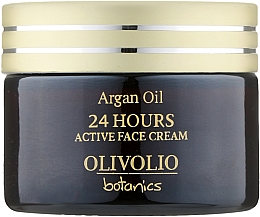 Духи, Парфюмерия, косметика Активный крем для лица - Olivolio Argan Oil 24 Hours Active Face Cream Q10