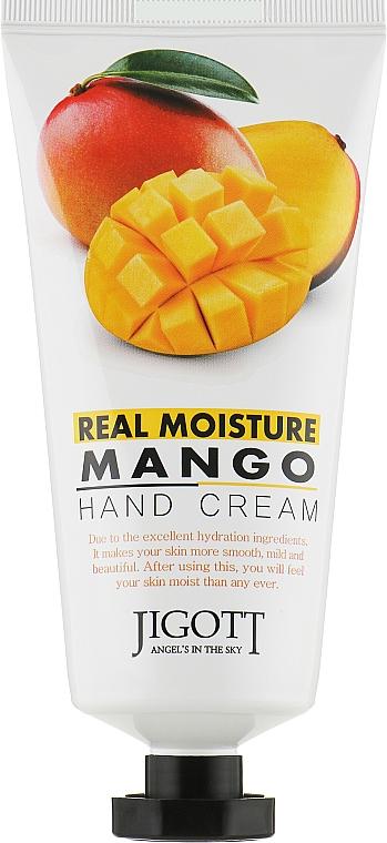 Крем для рук с экстрактом манго - Jigott Real Moisture Mango Hand Cream