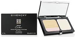 Духи, Парфюмерия, косметика Стойкая компактная основа и хайлайтер - Givenchy Teint Couture Long Wear Compact Foundation & Highlighter SPF10