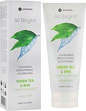 Духи, Парфюмерия, косметика Пенка для умывания с экстрактом зелёного чая и BHA - Jkosmec All Bright Basic Green Tea and BHA Foam Cleanser