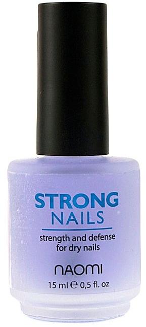 """Средство для ногтей """"Крепкие ногти"""" - Naomi Strong Nails"""