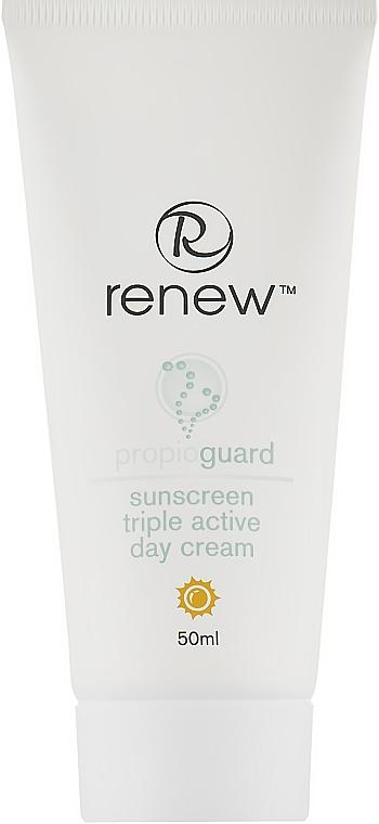 Дневной увлажняющий крем тройного действия для проблемной кожи лица - Renew Propioguard Propioguard Triple Active Day Cream