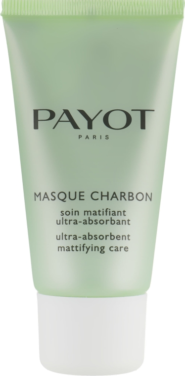 Суперабсорбирующее матирующее средство - Payot Pate Grise Masque Charbon — фото N2