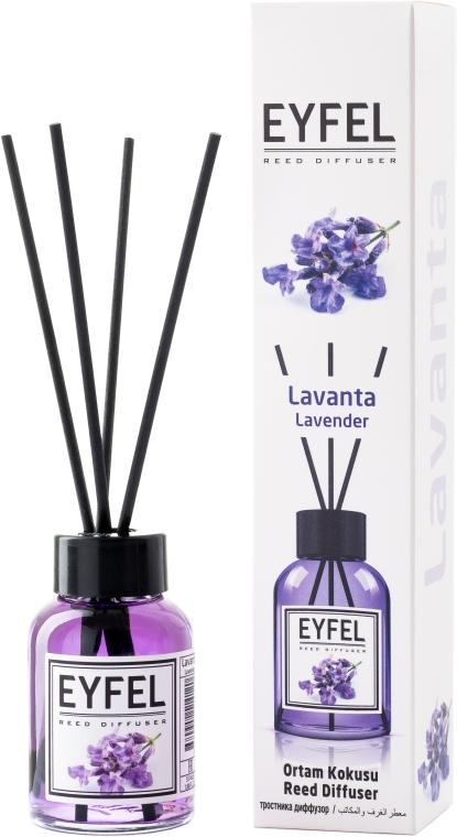 "Аромадиффузор ""Лаванда"" - Eyfel Perfume Reed Diffuser Flower"
