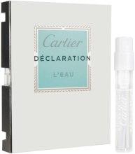 Духи, Парфюмерия, косметика Cartier Declaration L'Eau - Туалетная вода (пробник)