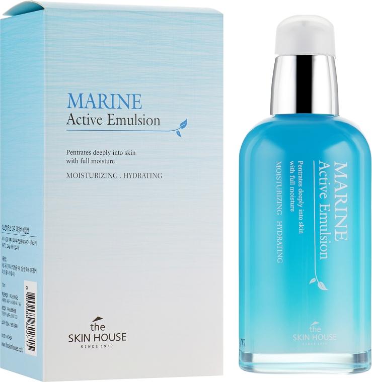 Увлажняющая эмульсия с керамидами - The Skin House Marine Active Emulsion