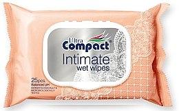 Духи, Парфюмерия, косметика Влажные салфетки с клапаном - Ultra Compact Intimate Wet Wipes