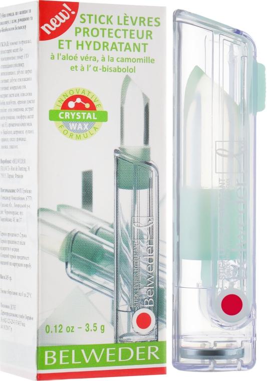 Защитно–увлажняющая губная помада с алоэ, ромашкой и α-бисабололом - Belweder
