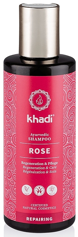 """Аюрведический шампунь """"Роза"""" - Khadi Rose Shampoo"""